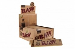 PAPEL RAW KING SIZE SLIM (precio por unidad) * PAPEL DE FUMAR RAW