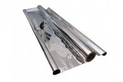 PLASTICO REFLECTANTE MYLAR 50 MICRAS X 30 MTRS. X 1,4 MTRS.  * PLASTICO REFLECTANTE